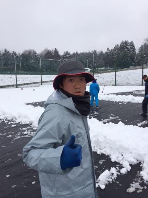 雪かき 秀さん.JPG