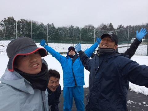 雪かき 達成感.JPG